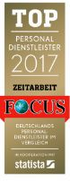 TOP recruitment agency 2017 FOCUS seal