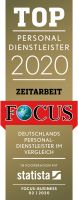 TOP recruitment agency 2020 FOCUS seal